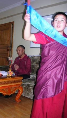 Alak Zenkar Rinpoche and Minjimaa -- WS