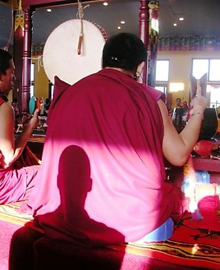 Palyul Retreat -- Ordination Day -- Jampel's Shadow -- WS