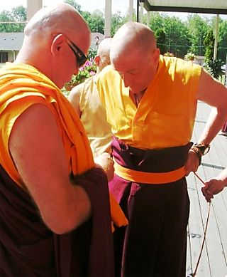 Palyul Retreat -- Ordination Day -- Kunga Helping Jampel -- WS