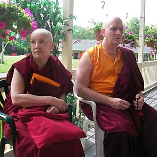 Palyul Retreat -- Ordination Day -- Gonpo and Question Marks -- WS