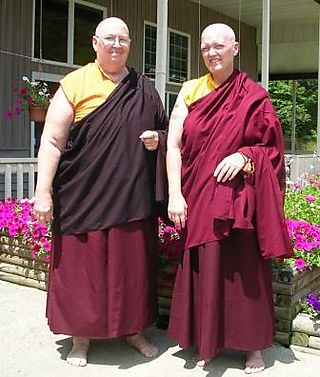 Palyul Retreat -- Ordination Day -- Drolkar and Alyce Louise -- Gelobma -- WS