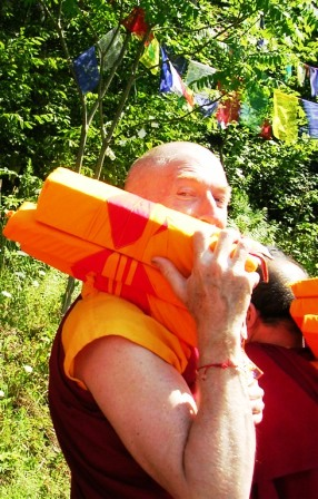 Palyul Retreat -- Jampel with Texts -- WS