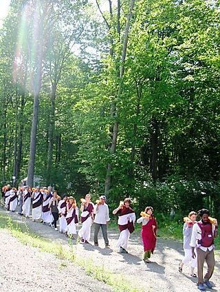 Palyul Retreat -- Text Procession with Rainbow Light -- WS