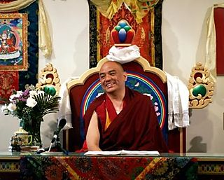 KPC -- Khenpo Tenzin Norgey on Throne -- WS