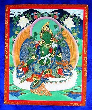 Al La Porta -- Green Tara Thangka -- WS