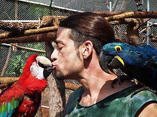 Garuda Aviary Opening -- Chris Hakan and Damara -- WS