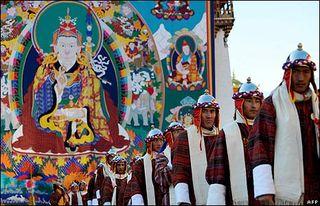 Guru Rinpoche in Bhutan