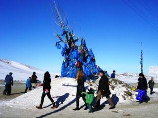 Mongolia -- Tsagaan Sar 2009 -- Horse Ovoo -- WS