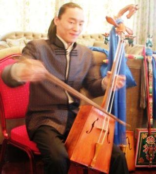 Tsagaan Sar 2009 -- Erka's -- Tserendorj's Son Smiling -- WS