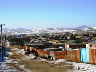 Mongolia -- Tsagaan Sar 2009 -- Town -- WS