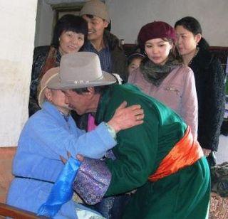 Mongolia -- Tsagaan Sar 2009 -- Pujee Greeting 2 -- WS