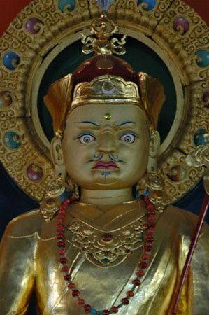 Namdroling -- Guru Rinpoche -- Before