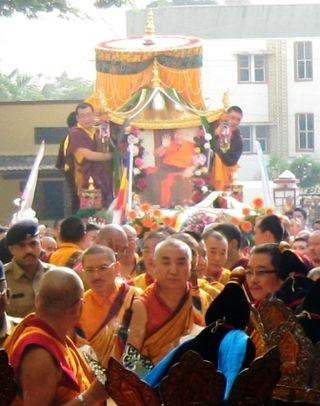 HH Penor Rinpoche Ceremony -- Khenchen Namdrol