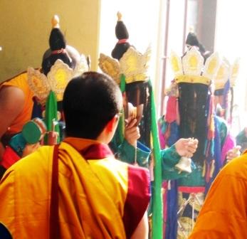 HH Penor Rinpoche Ceremony -- Dakinis