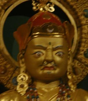 Namdroling -- Guru Rinpoche Statue -- After