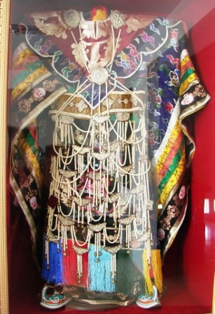 Mongolia -- SIT Gobi Trip -- Danzan Ravjaa Oracle Garment -- WS