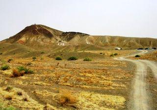 Mongolia -- SIT Gobi Trip -- Khar Uul Side View -- WS