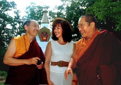 HH Penor Rinpoche Jetsunma Gyatrul Rinpoche