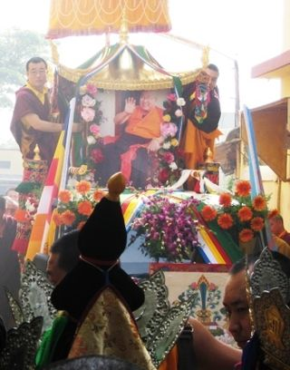 HH Penor Rinpoche Ceremony -- Holiness Kudung Close
