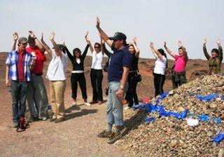 Mongolia -- SIT Gobi Trip -- Revival Meeting -- WS