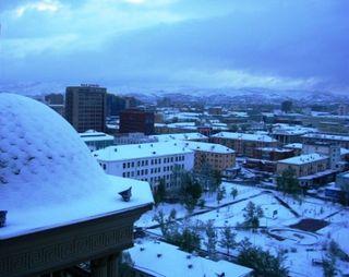 Ulaanbaatar -- May Snow -- WS