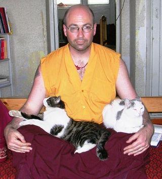 Konchog Kovered in Kitties -- Web Size