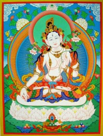White_tara_thangka