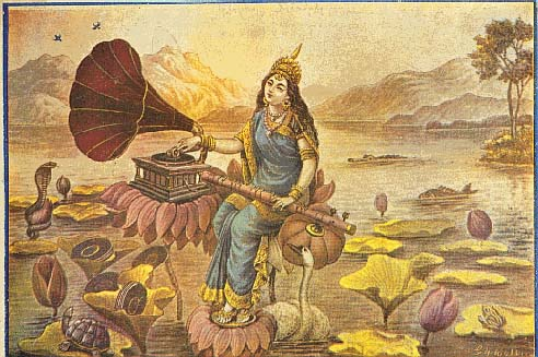 Gramophone_saraswati_2