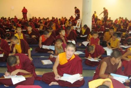 India_candidates_exams_monk_looking