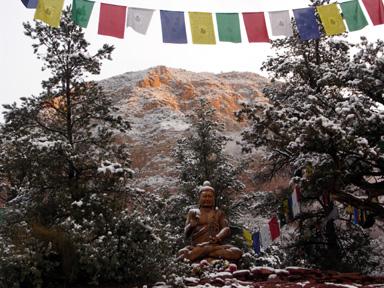 Buddha_snow